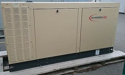 Used- Generac 70 Kw Standby 63 Kw Prime Natural Gas Generator Set Model Sg070