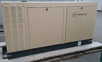 Generac 70 Kw Standby 63 Kw Prime Natural Gas Generator Set Model Sg070