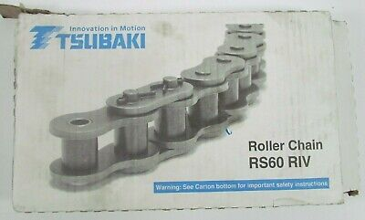 Roller Chain No. 60 34 Pitch Ansi 60 Single Strand 1980 Lb. Capacity