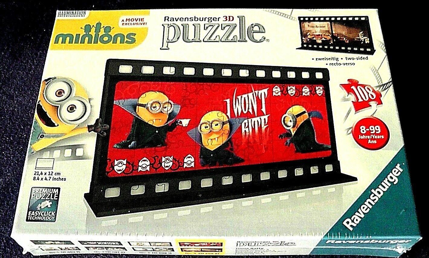 Minions -3D Filmstreifen 108Teile Puzzle