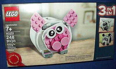 Lego 3 en 1 Creator Hucha Polar Oso Panda 40251 Edición Limitada Precintado