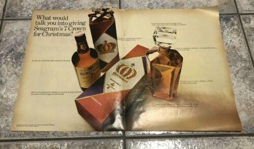Vintage 1967 Life Magazine Seagram