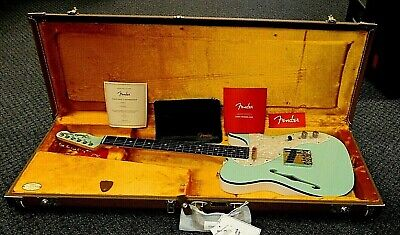 2020 Fender 2-Tone Telecaster Thinline (FSR) Ltd Edition! Surf Green! NO RESERVE