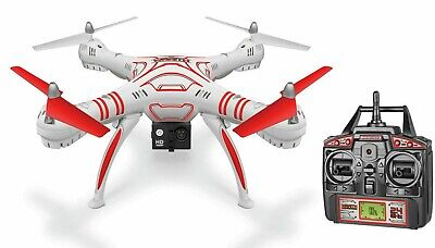 NEW Wraith SPY Drone KIT 4.5 Way 1080p HD Video Camera 2.4GHz RC Quadcopter