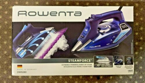 Rowenta DW9280 Steamforce Steam Iron (New In The Box) Free Shipping