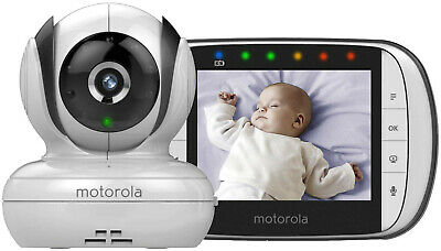 "Motorola 3.5"" Video Baby Monitor MBP36S- model from mid 2017 with Star Grip"