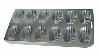Fox Run 12 Cup Heavy Duty Nonstick Madeleine Shell Shape Cake Mold Cookie Pan