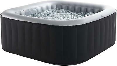 4 Peoples MSpa Alpine Self Inflatable Hot Tub Jacuzzi Bubble Spa Square