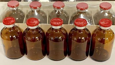 100ml Sterile Amber Serum Vial 5pk