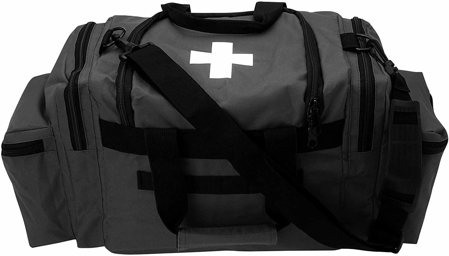 Best NEW FIRST AID RESPONDER EMS EMERGENCY MEDICAL TRAUMA BAG DELUXE