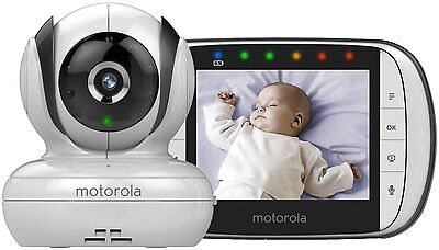 Motorola MBP36S Wireless Digital Video Baby Monitor with Night Vision
