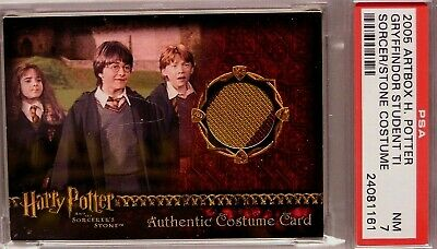 Harry Potter-SS-Authentic-Movie-Costume Card-Gryffindor Students-Tie-Graded 7
