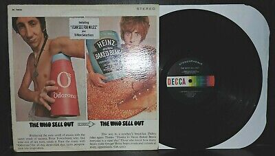 Who Sells Pop Rocks (THE WHO: Sell Out LP ('68 US press, stereo, spine split) Psych)