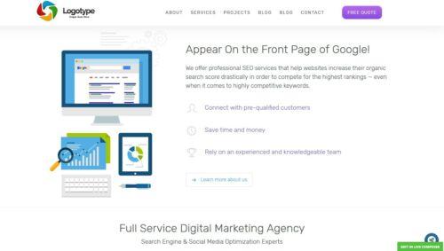 SEO & Digital Marketing Website - Free Install + Hosting