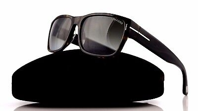 0220a158b8 RARE Genuine TOM FORD Mason Havana Smoke Gradient Sunglasses TF 445 52B FT  445S