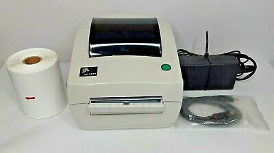 Zebra LP2844 Thermal Label Barcode Printer USB Power Adapter and Labels Included for sale  Shipping to Nigeria
