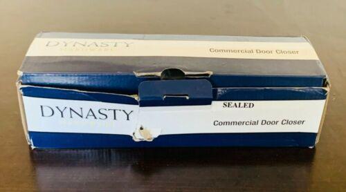 Dynasty Hardware 3000-ALUM Commercial Door Closer, Size 3 Spring, Aluminum