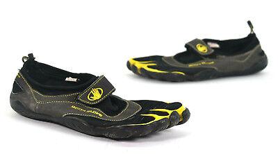 Body Glove Mens 3T Barefoot Max Water Shoe Black Yellow 9 M US