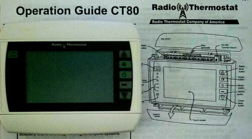 Radio Thermastat CT80 (WiFi Capable, with included module)