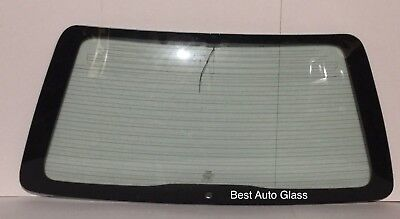 1993-1996 Mitsubishi Diamante 4 Door Station Wagon Rear Back Window Glass Heated