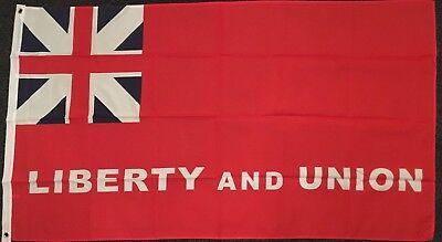 Liberty & Union Flag 5x3 American History USA 1776 Revolution Revolutionary War