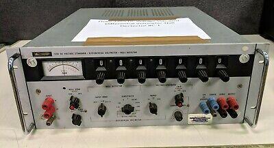 Fluke 335a Dc Voltage Standard-differential Voltmeter-null Dectector C-1