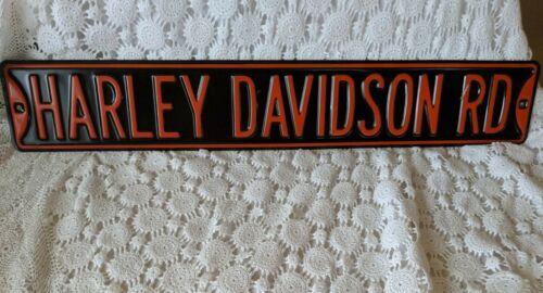 "Harley Davidson Road Street Sign Heavy Metal Man Cave 36"" x 6"""