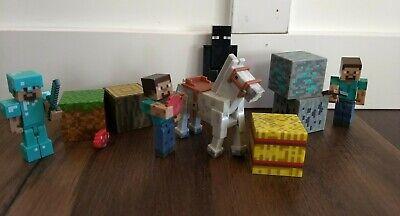 Minecraft Lot Steve Horse Enderman Blocks