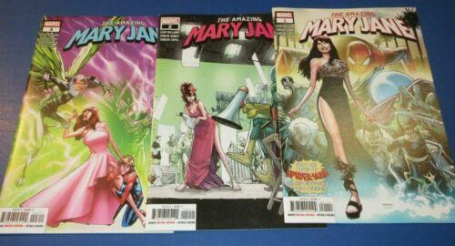 The Amazing Mary Jane #1 2 3 4 5 6 Marvel Comics 2019 #1-6
