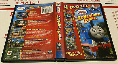 Thomas & Friends: Adventure Pack (DVD, 4-Disc Set) w/ Races, Rescues & Runaways
