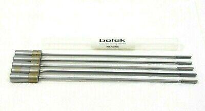 Lot Of 5. Botek K15 2607 0.1875 X 10.00 Gun Drill. 10 Length Kidney Flute