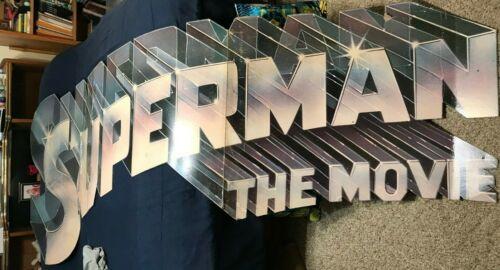 Rare 1978 SUPERMAN The MOVIE GRAUMAN