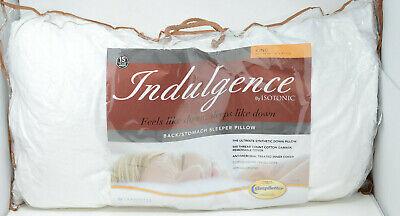Isotonic Indulgence King Size Back/Stomach Sleeper Pillow