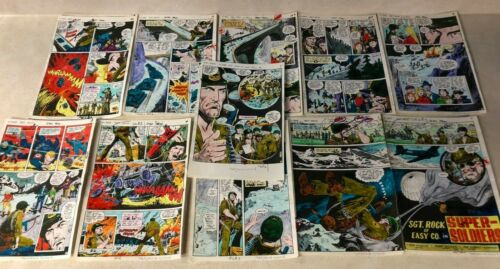 OUR ARMY AT WAR #290 ART color guides 11 PAGE COMPLETE STORY SGT ROCK 1976