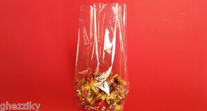 100 - Clear Cellophane Cello Small Treat Candy bags Wedding Candy buffet table