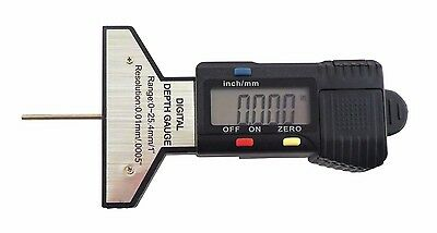Taytools 0-1 0-25 Mm Digital Depth Gauge Dial Indicator Tire Tread Gauge Ddg