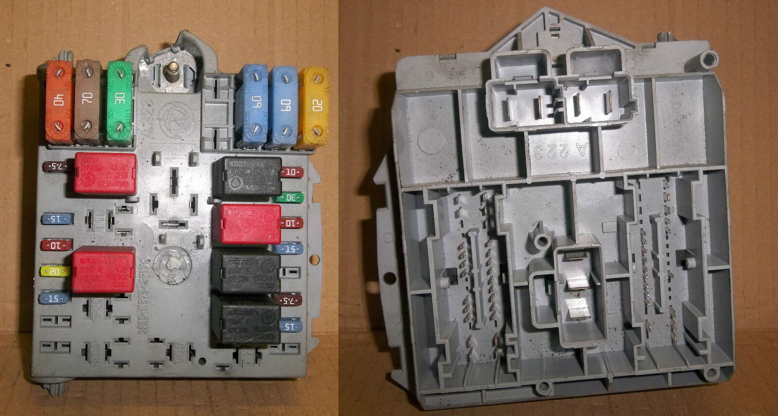 Fiat Punto 1999 2006 Non Sporting External Engine Bay Fuse Box A223