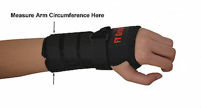 Wrist Support W  Splint   Carpal Tunnel Brace   Adult   Kids   9 Sizes   L Or R