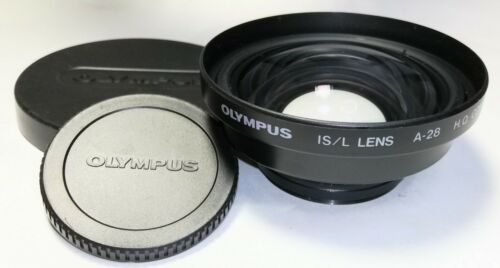 [Excellent++] Olympus IS/L Lens A-28 H.Q. Converter 0.8X 49mm From Japan #A068R2