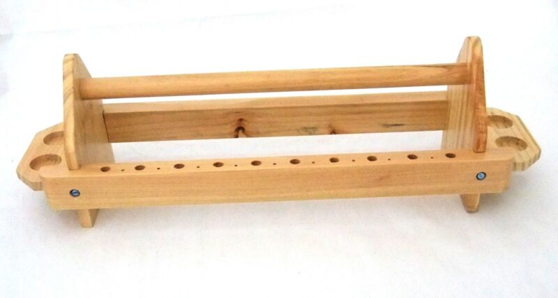 Solid Wood Bench Top Plier And Tool Organizer