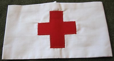 WWI US ARMY INFANTRY MEDICAL MEDIC SLEEVE ARM ARMBAND BRASSARD INSIGNIA