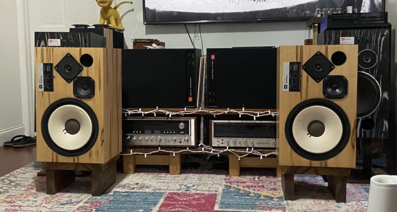 Vintage JBL Century L100 Speakers