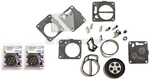 SEADOO TWIN CARBURETOR REBUILD KIT SPX XP HX GSX GTX GTS 650 657 717 720 787 800