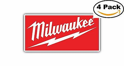 Milwaukee Tools Tool Toolbox Decal Diecut Sticker 4 Stickers