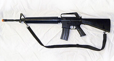Full Scale U.S. Military M-16 Airsoft Assault Rifle/Gun with many extras! -- NEW for sale  Mankato
