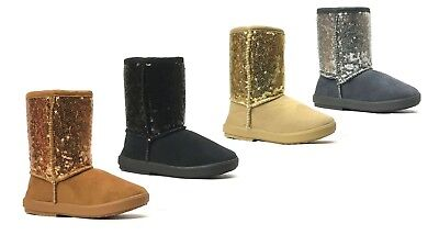Cute Toddler Girls (New Kids Boots Toddler Girls Cute Shiny Sequins Infant)