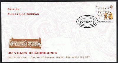 30 Years British Philatelic Bureau Edinburgh Official Cover with SG1904 Stamp