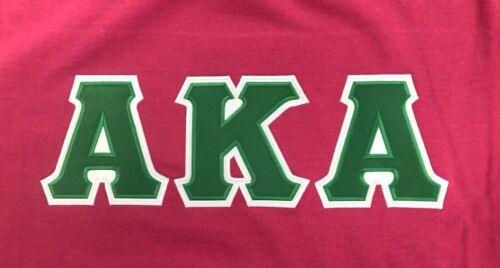 Alpha Kappa Alpha size Large crew sweatshirt midweight high cotton blend
