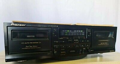 Pioneer CT-W208R Stereo Double Cassette Deck - Vintage Hi Fi Seperate