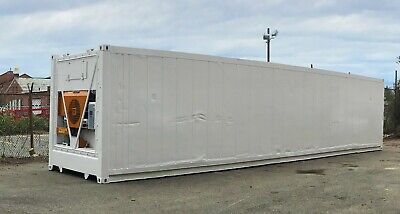 40-foot Freezer Container Mobile Cold Storage Cell Thermo Kingreefer